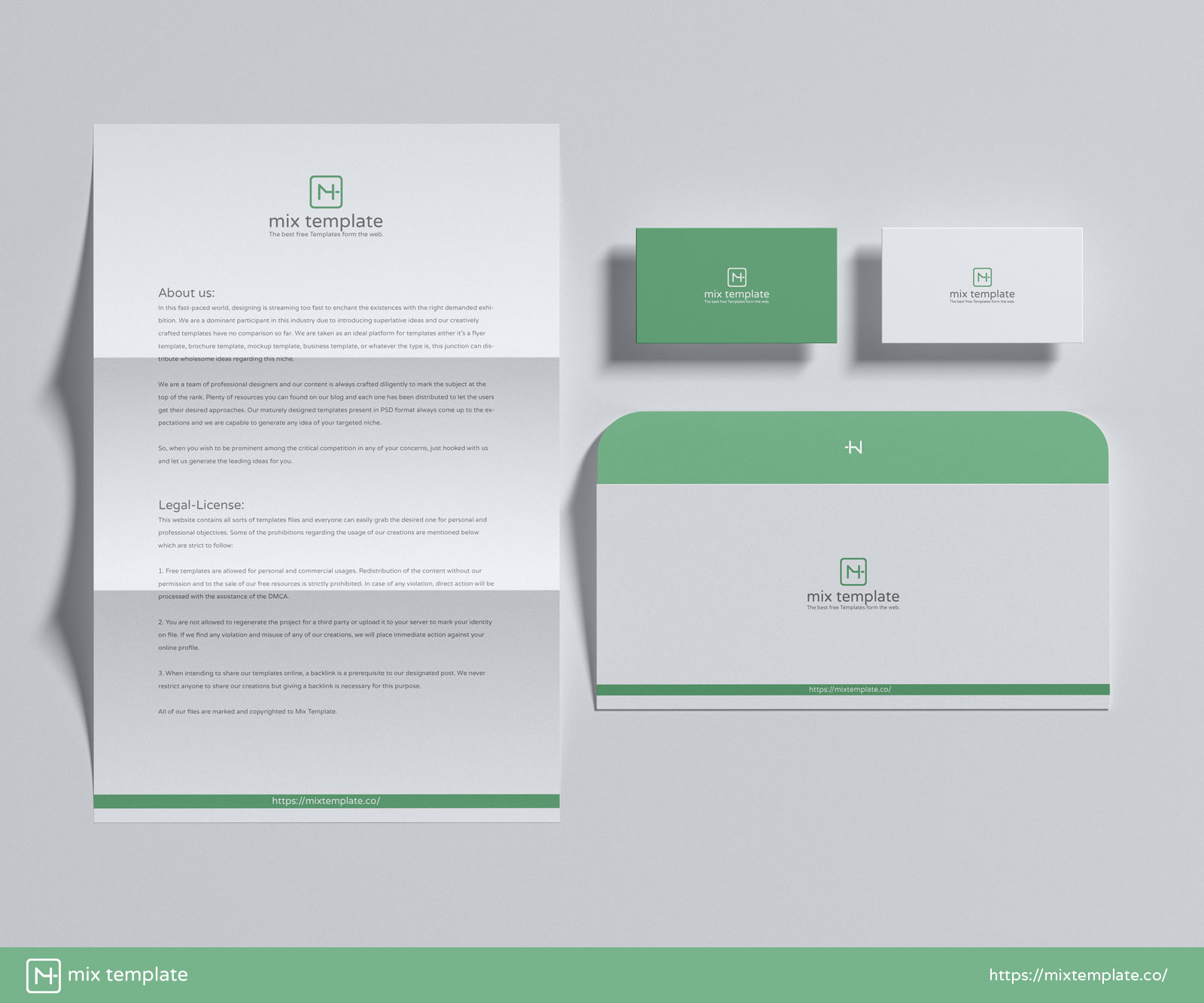 Free-PSD-Modern-Branding-Stationery-Mockup-Template
