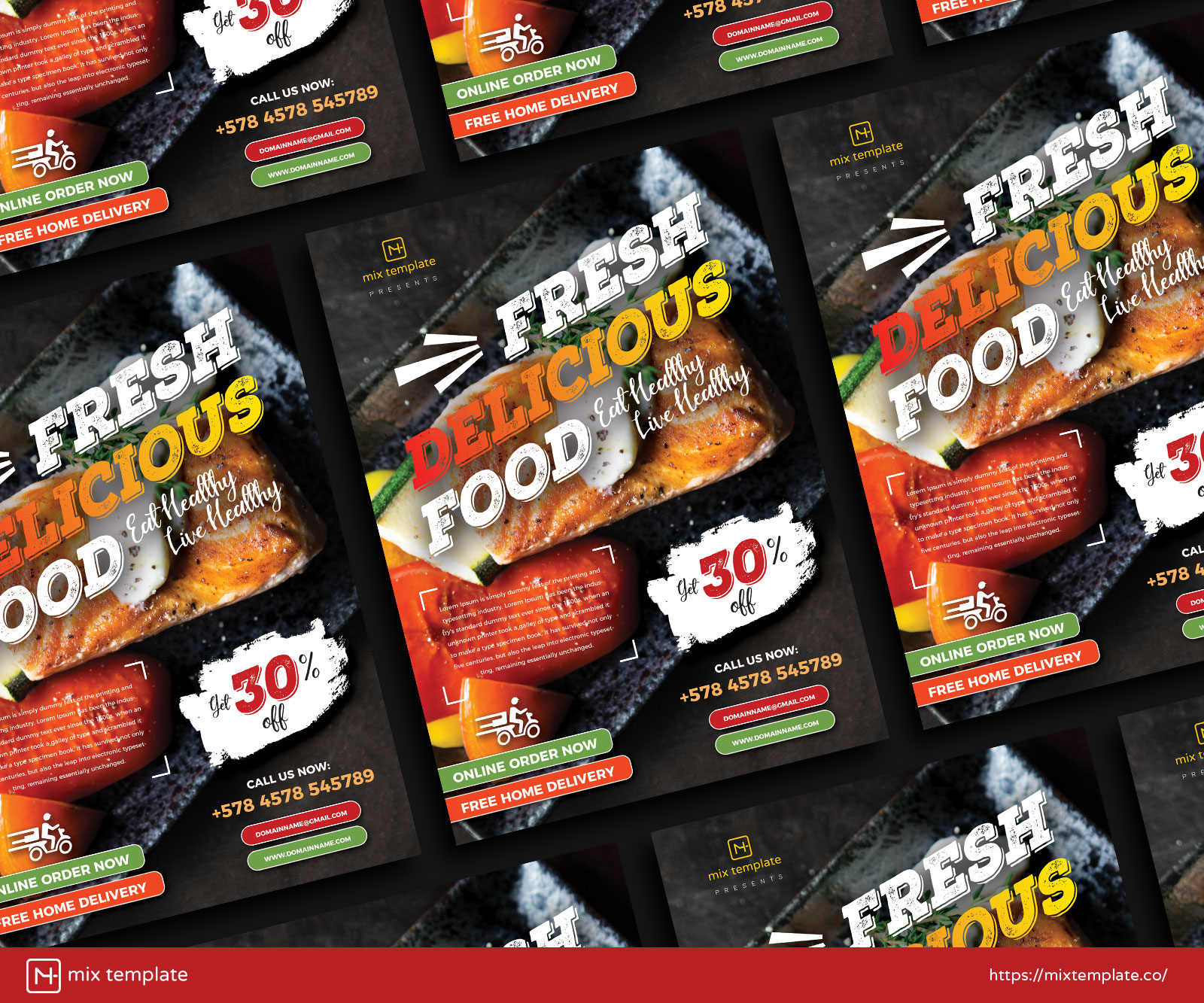 Free-Restaurant-Food-Flyer-Design-Template-of-2021-38