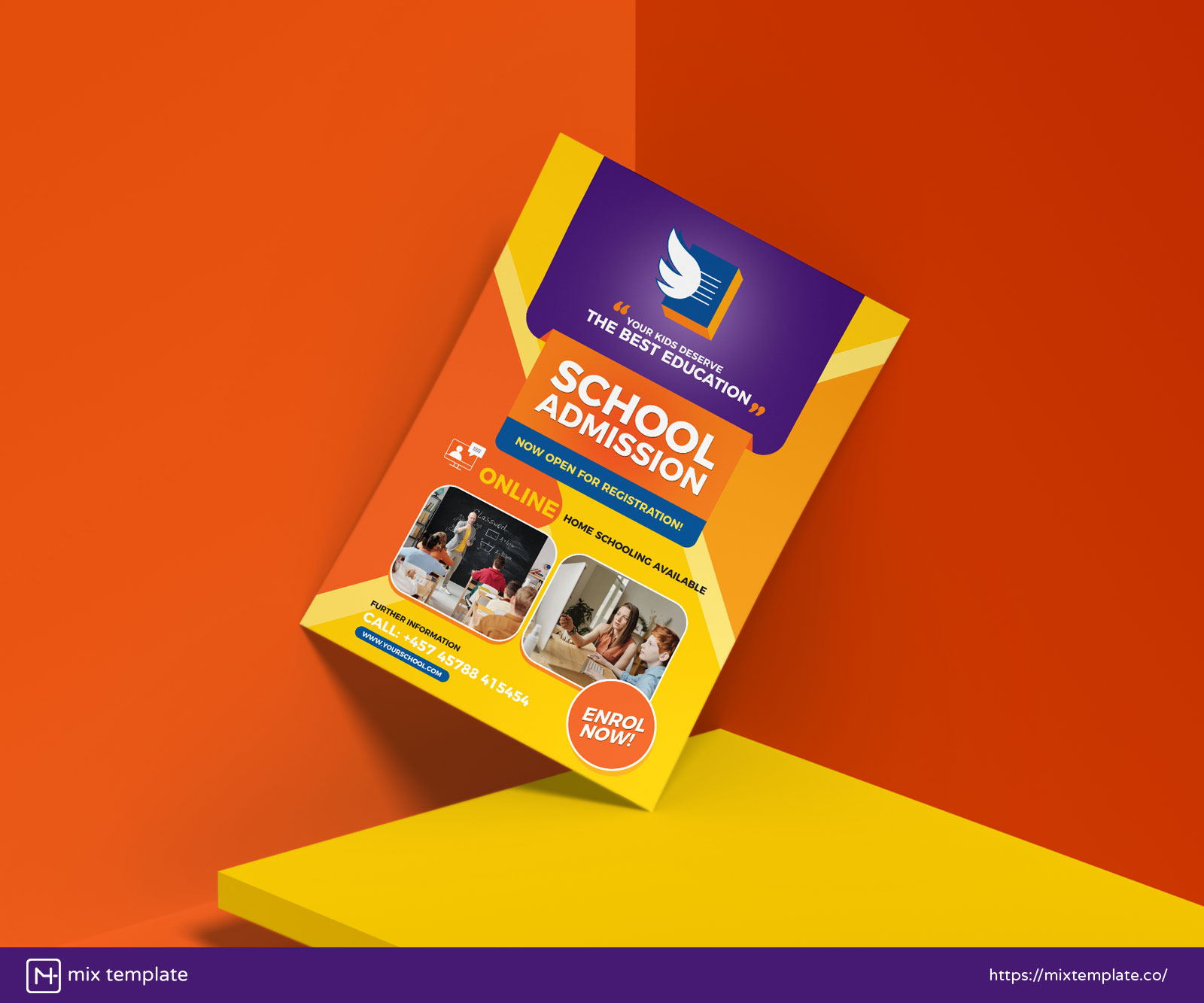 Free-Education-Flyer-Design-Template-38