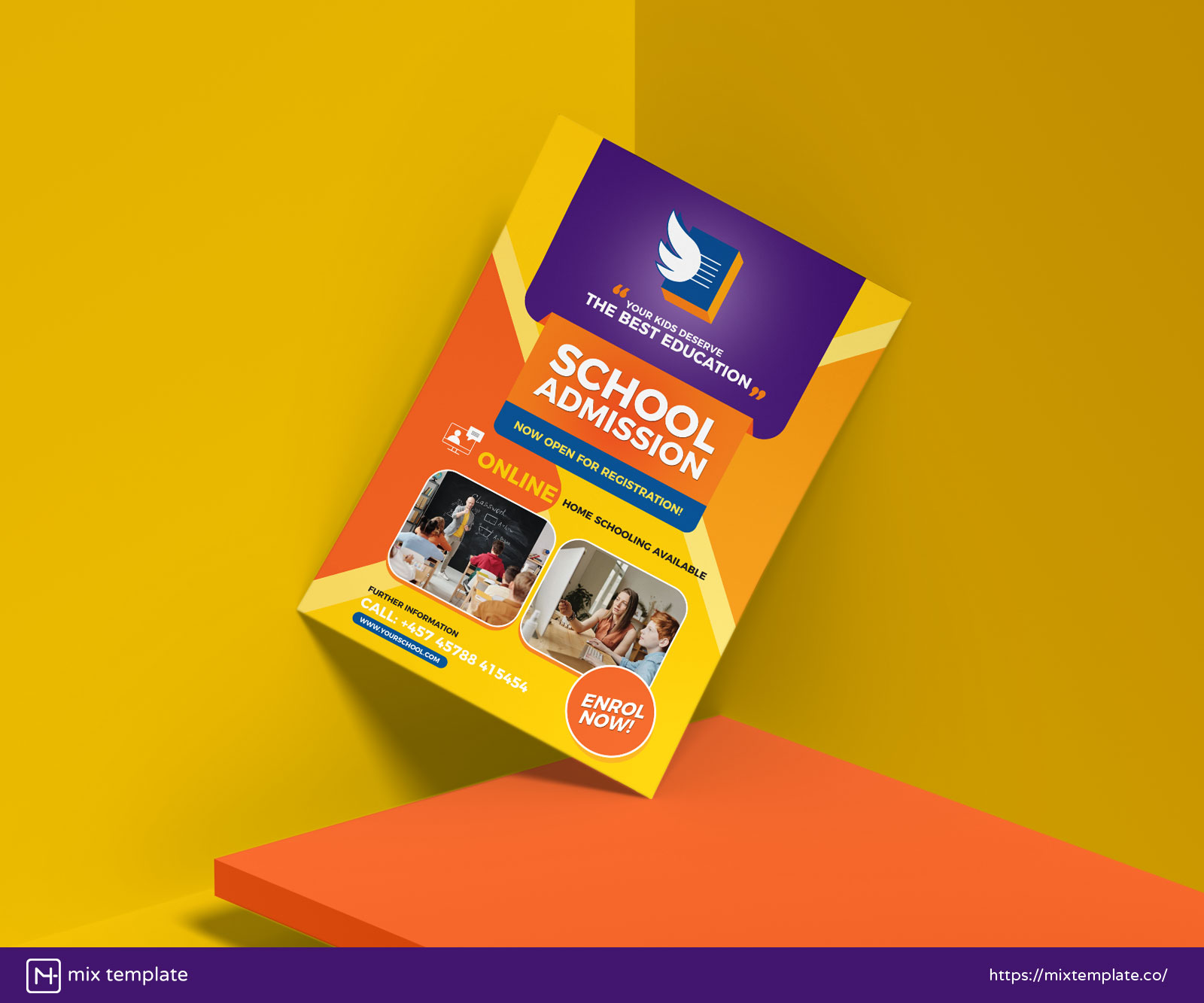 Free-Education-Flyer-Design-Template