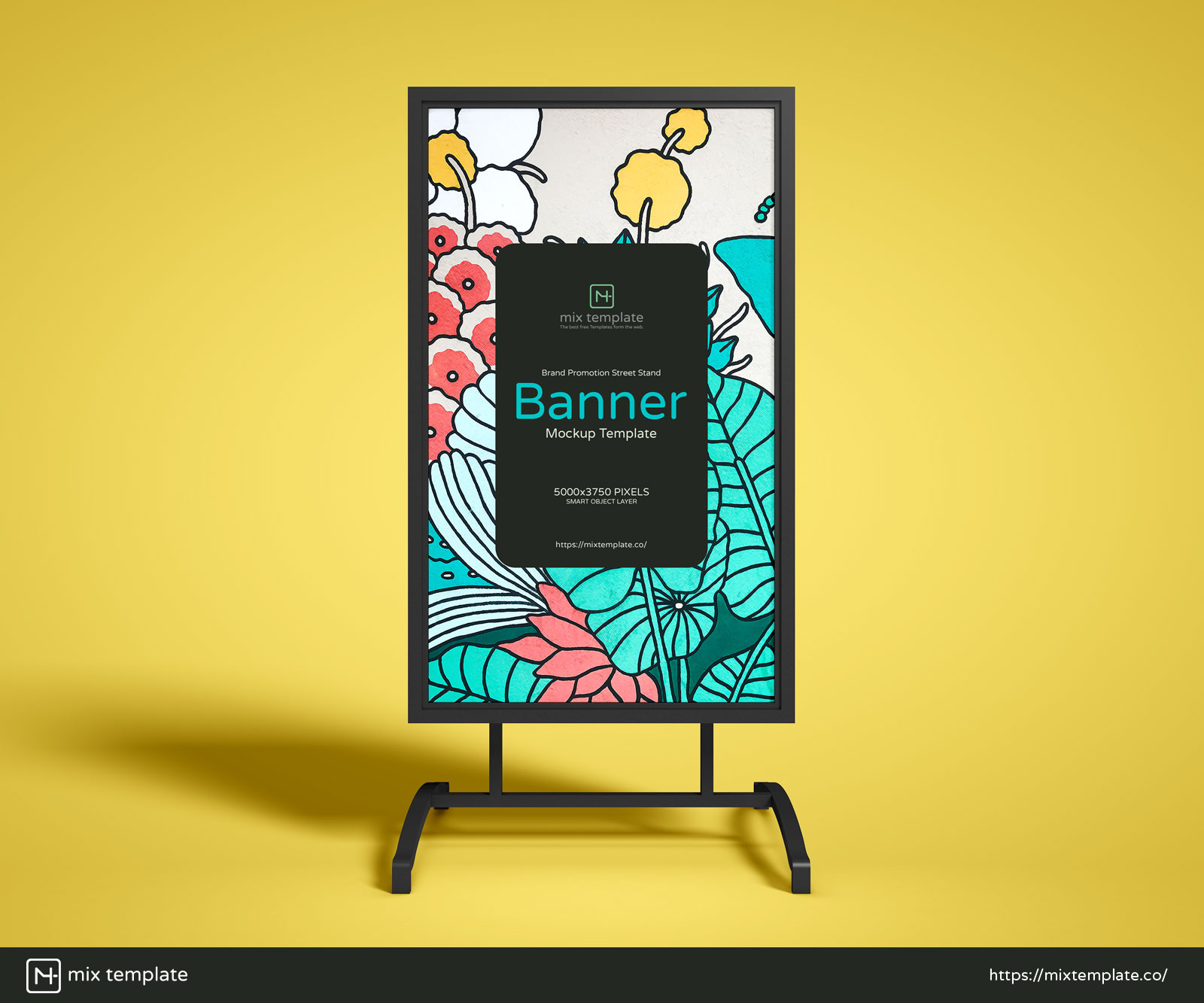 Free-Brand-Promotion-Street-Stand-Banner-Mockup-Template