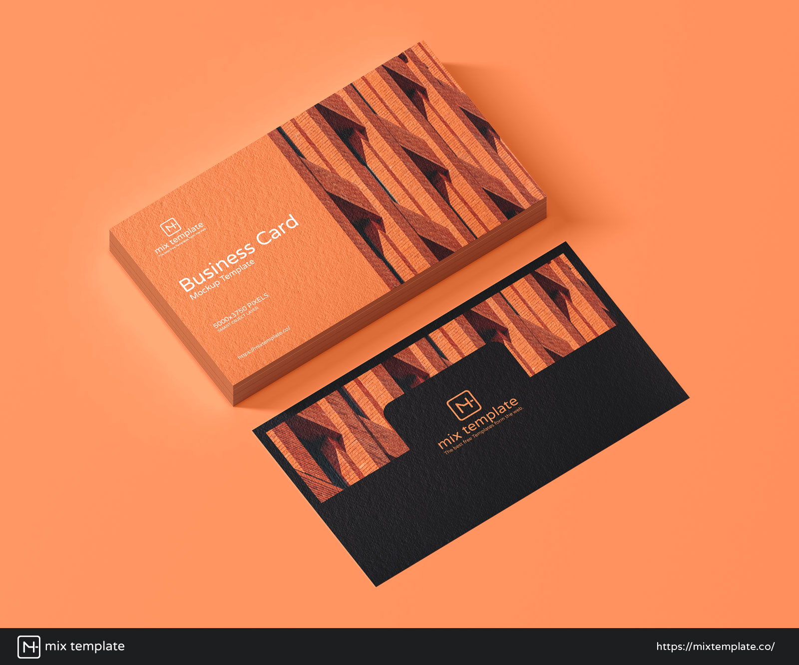 Free-Business-Card-Mockup-Template