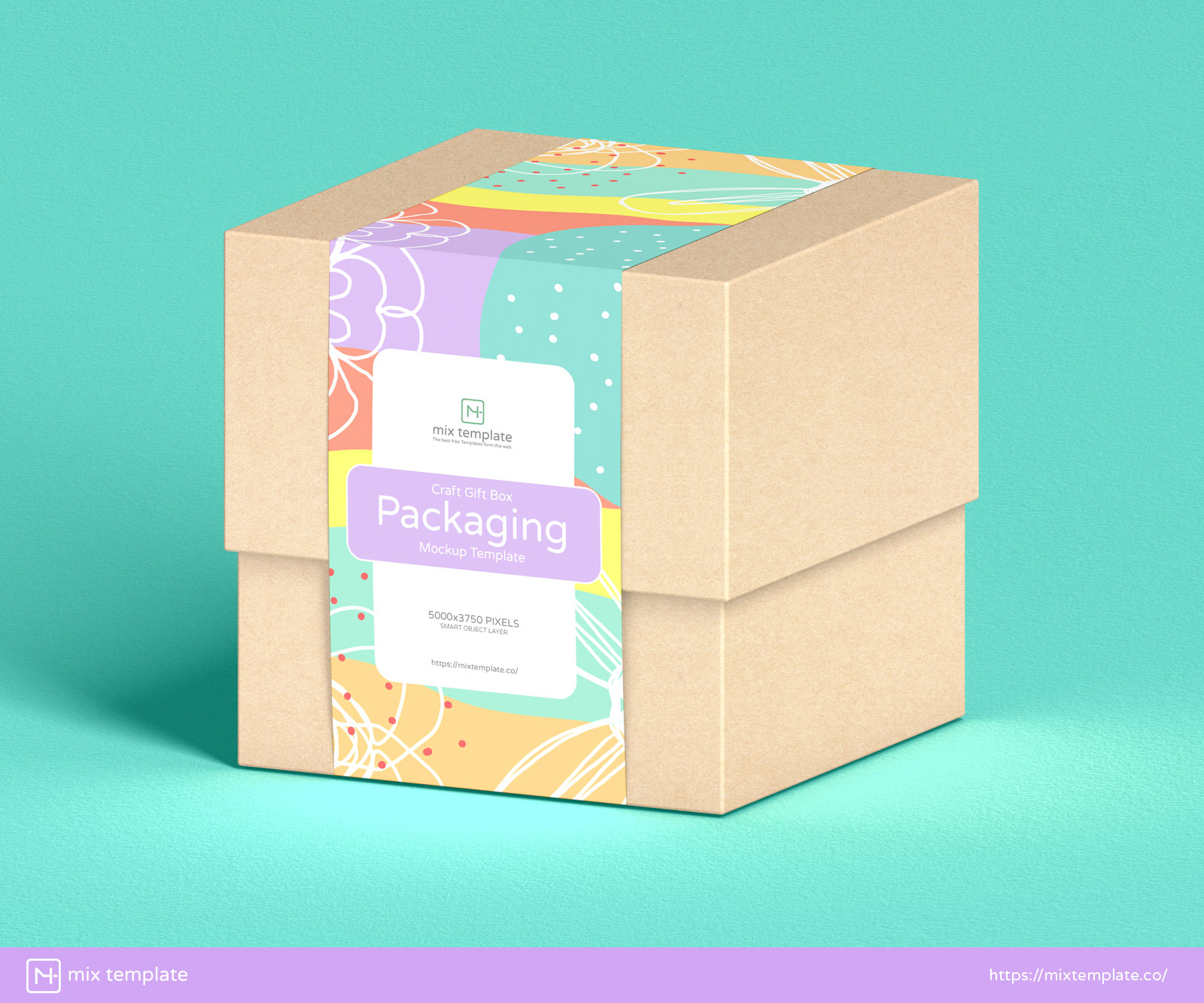 Free-Craft-Gift-Box-Packaging-Mockup-Template