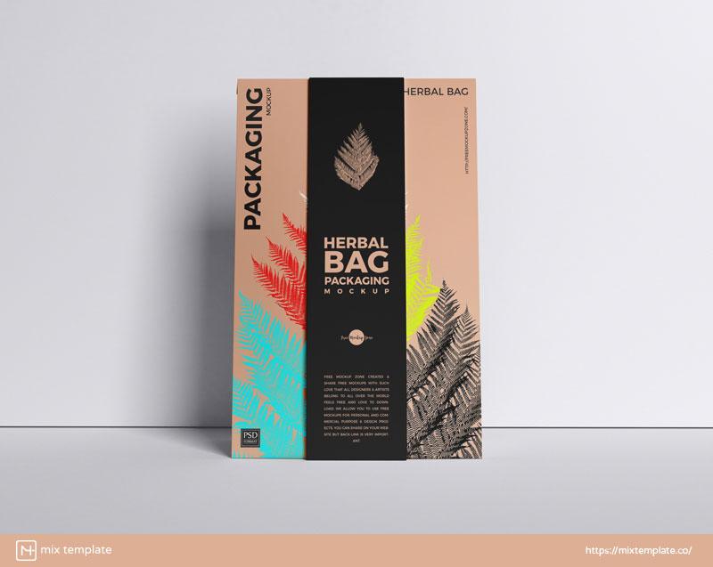 Free-Herbal-Bag-Packaging-Mockup-Template