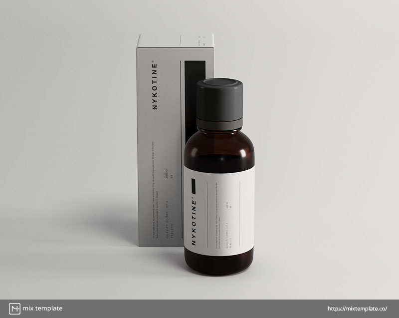 Free-Medicine-Bottle-and-Box-Packaging-Mockup-Template