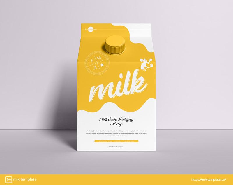 Free-Milk-Carton-Packaging-Mockup-Template