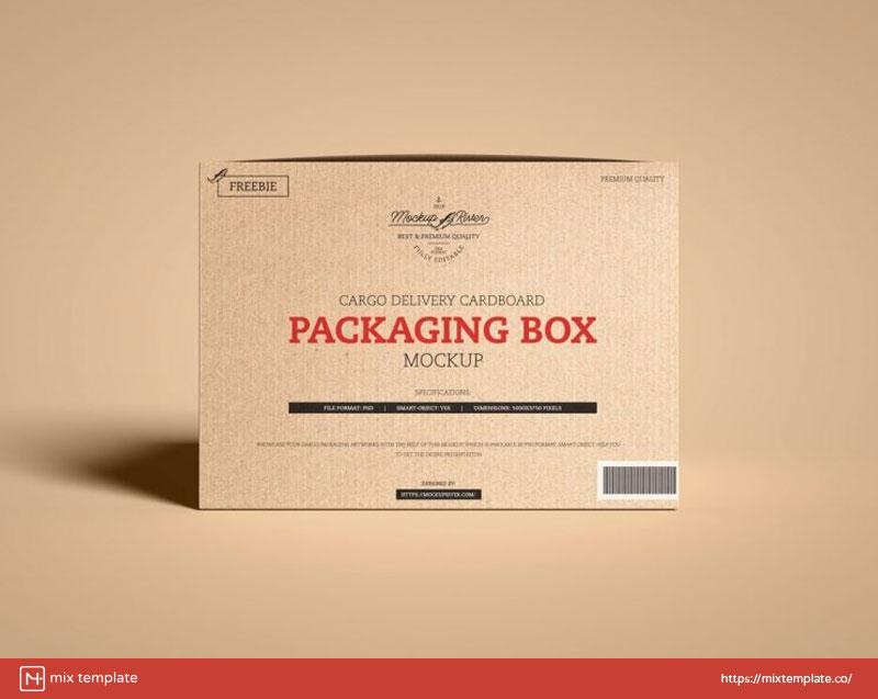 Free-Packaging-Box-Mockup-Template