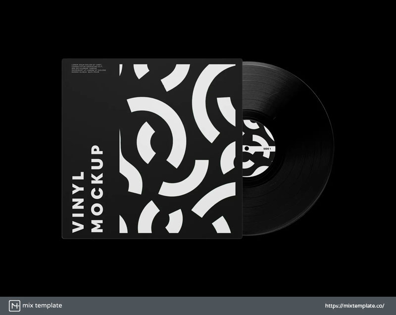 Free-Vinyl-Record-Mockup-Template