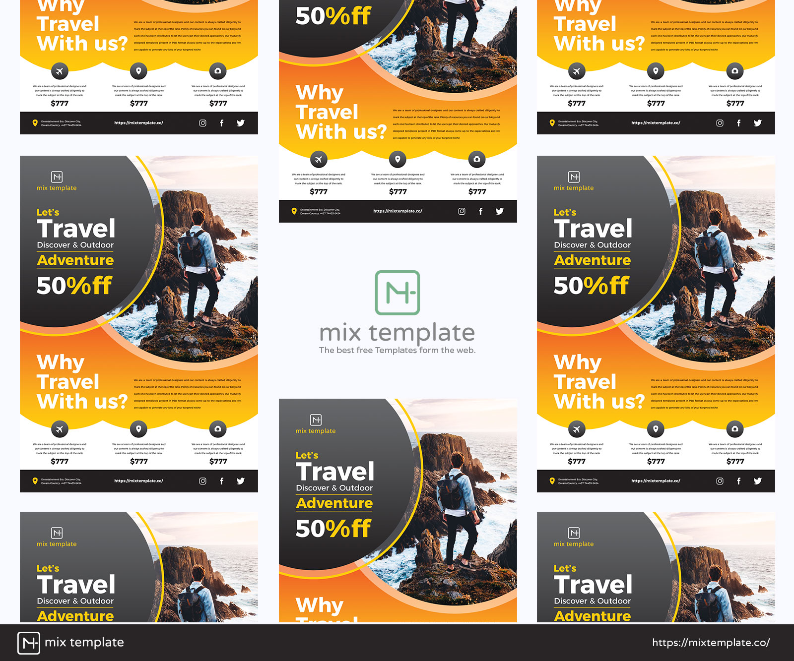 Free-Design-of-Travel-Flyer-Template-38