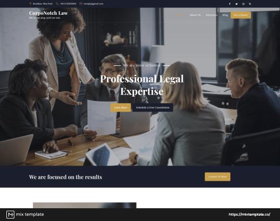 CorpoNotch-Law-Firm-Website-Design